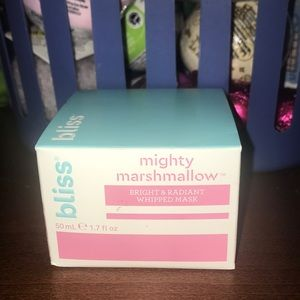 NWT Bliss Mighty Marshmallow Bright & Radiant Mask